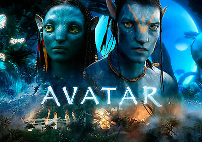Avatar Movie Wall Art Poster (A1 - A5 Sizes Available)