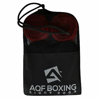 AQF Boxing Hand Wraps Elasticated Bandages 4.5 Meter MMA Kick Boxing (Pack of 3)