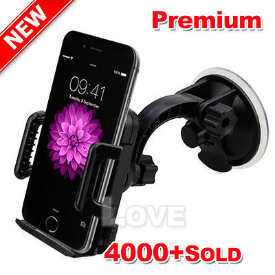 OZ Car Mount Cradle Holder Windshield Stand for Apple iPhone 6S 6 Plus 4.7 5.5