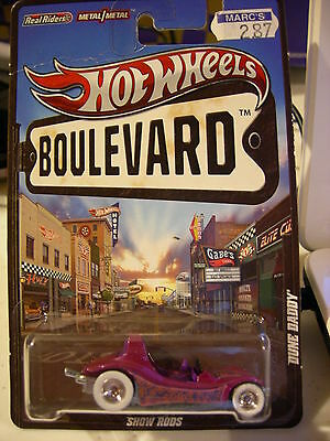 Hot Wheels Boulevard Real Riders Tires Dune daddy Show Rods