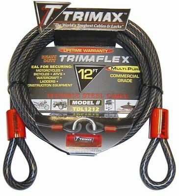 "Trimax TDL1212 12"" Flexible Steel Cable"