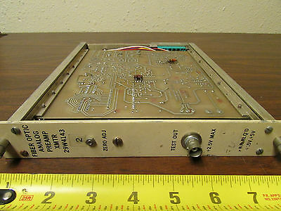 Fiber Optic Analog Preamp Transmitter 29W4143 NIMBIN CAMAC