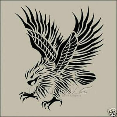 Reusable airbrush stencils templates  - Eagle (Large size)