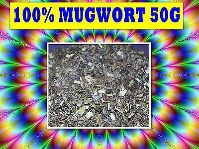 MUGWORT 50G TEA ☆ Artemisia vulgaris☆DRIED HERB☆RELAX☆REMEDY☆SAVE☆SUPER FRESH
