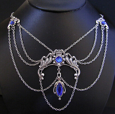 Goth RENAISSANCE Medieval Elf ELVEN Choker/NECKLACE Bridal Princess Queen