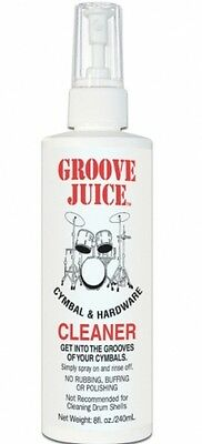 GROOVE JUICE Cymbal & Hardware Cleaner (240ml) 002-109-100
