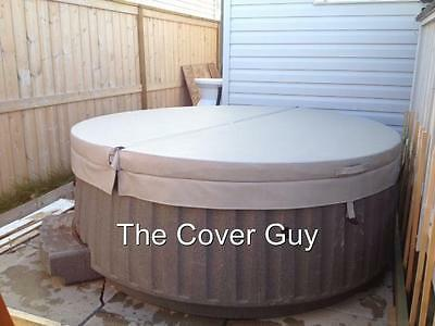 """The Cover Guy Custom Standard 4""""-2""""  Spa Hot Tub Cover - for Indoor spas"""