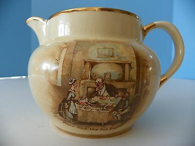 """Vintage Arthur Wood pitcher # 3752 Features, """" Mary and the Fat Boy """""""