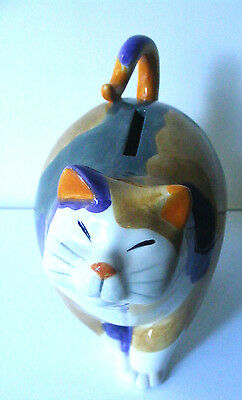 Calico Cat Kitten Coin Bank by Fitz and Floyd