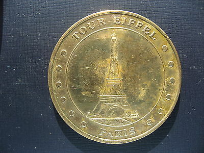 Medaille Officielle Collection Nationale  - Tour Eiffel.
