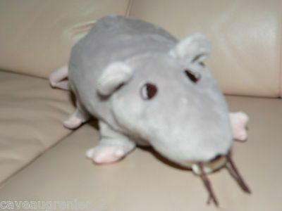 RAT MOUSE Realistic Super Soft Plush Great Quality Pretend Play Toy Animal