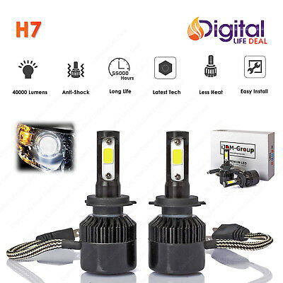 2017 New H7 420W 40000Lm Led Car Headlight Kit Bulb 6000K Replacement Hid Xenon