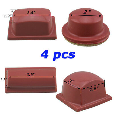 Pad Printing Rubber Head / 4 size Square & Round  Printing toll