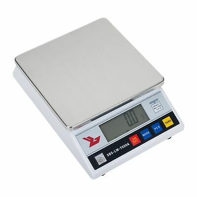 PRECISION SCALE - 7500g / 0 1g LABORATORY DIGITAL ANALYTICAL WEIGHING BALANCE