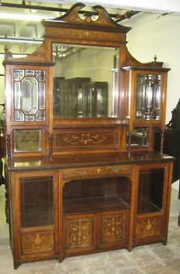 Fantastic Antique English Rosewood Side Cabinet