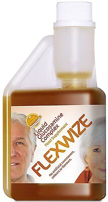 Flexwize Liquid Glucosamine with Chondroitin and MSM for Osteoarthritis