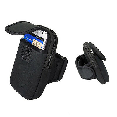 Black Running Biking Sports Armband Case Cover Bag For Apple iPhone 6S 4.7-inch