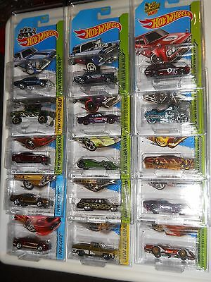 HOTWHEELS SET OF 15 2014 SUPER TREASURE HUNT CARS GASSER DATSUN 510 FAT BOY