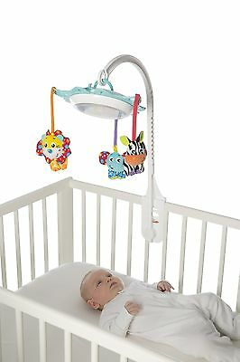 Brand New Playgro Deluxe Music & Lights Cot Mobile Nightlight & Play Toy 0m+