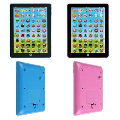 HOT English Learning Touch Tablet Computer For Children Baby Educational Toy
