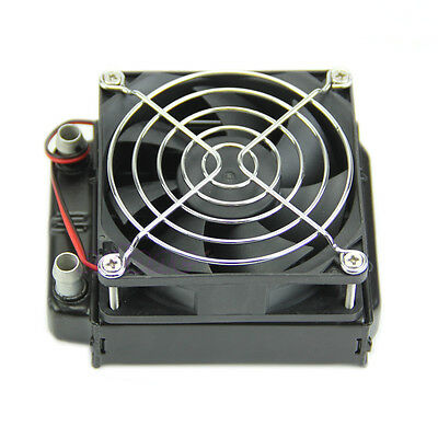 CPU LED Heatsink 80mm Aluminum Water Cooling Cooler Computer Fans Radiator
