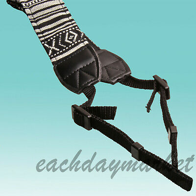 Neck Shoulder Strap Sling Belt for Binoculars Canon DSLR EOS Camera 60D 500D 7D