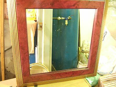 """Home Interior Wall decor square gold marble burg frame mirror 14"""" X 14"""" (Reduced"""