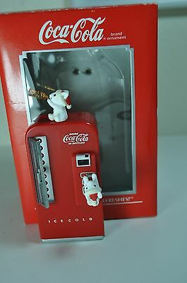 """COCA COLA ORNAMENT """" THE PAUSES THAT REFRESHES"""""""