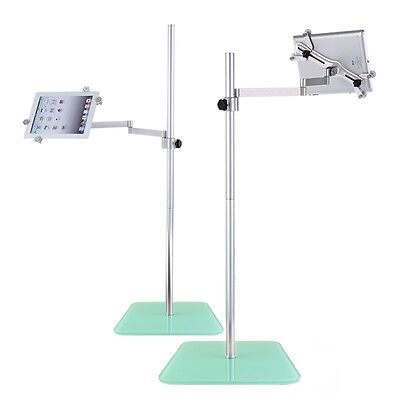 Floor Hands Free Stand Adjustable Holder For Tablet iPad Air 2/3/4/mini Galaxy
