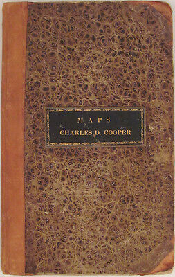 1841 Manuscript Lot Maps of Albany Property Owned by Charles D. Cooper & Family