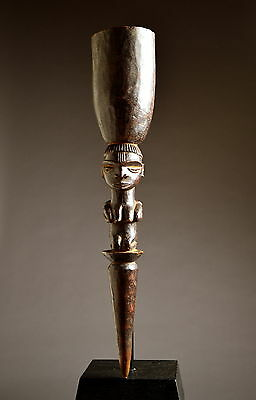 SUPERB PENDE TOBACCO MORTAR  - ARTENEGRO Gallery with African Tribal Arts