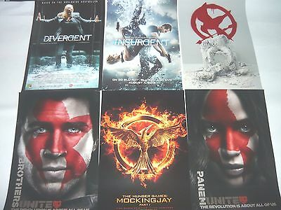 Sdcc 2015 Mocking Jay 2 Insurgent Posters 2014 Divergent Promo Posters Watch