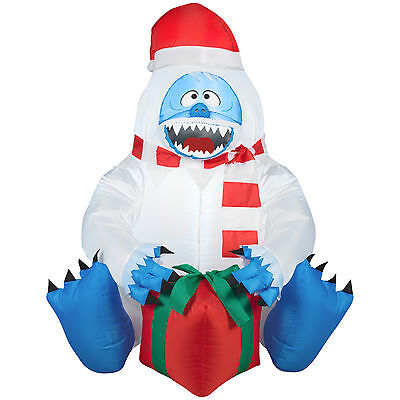Bumble with Present Airblown Christmas Inflatable