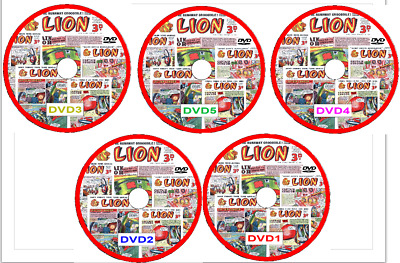 Lion Comics on DVD 213 issues includes viewing software
