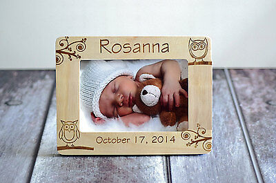 Baby Picture Frame- Personalized Frame- Picture Frame Gift- Baby Boy or Girl