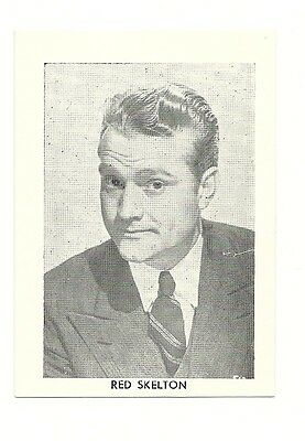 """2.5""""X3.5""""  B/W publicity photo from 40's-50's VG Condition Red Skelton"""