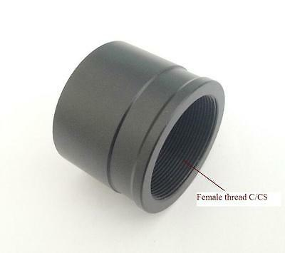 """New Telescope Eyepiece To Camera Adapter 1.25"""" to C Mount Female Thread"""