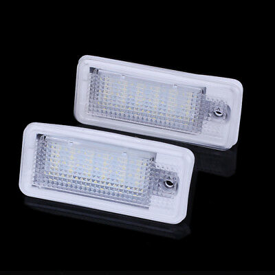 Audi LED License Number Plate Light A3 S3 A4 S4 B6 B7 A6 S6 A8 S8 Q7 RS4 RS