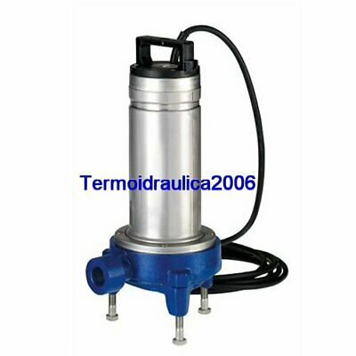 Lowara DOMO Submersible Pump Dirty Water DOMOGRI11T Grinder 1,1kW 3x400V 50Hz
