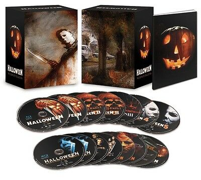 Halloween: The Complete Collection (Blu-ray Disc, 2014, 15-Disc Set, Limited...