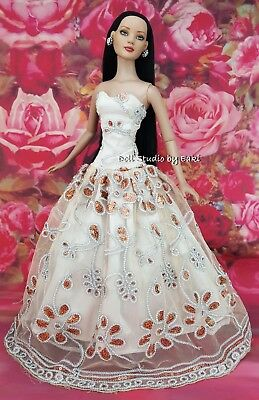 "Fashion Clothes Evening Dress Outfit Gown Fits Tonner American Model 22"" Doll"