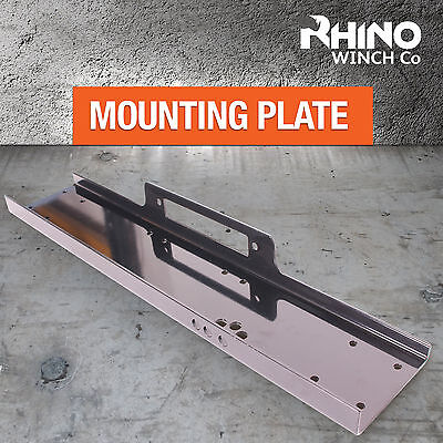 RHINO WINCH MOUNTING PLATE - FOR HEAVY DUTY WINCHES - 8000LB to 13000LB, 13500LB