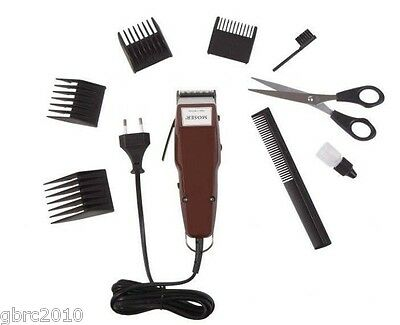 MOSER 1400 PLUS Professional Hair Clipper / Trimmer + 4 Combs + scissors