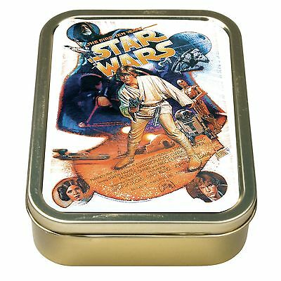 Star Wars A New Hope Metal Cigarette Tobacco Tin Rolling Smoking Paper Box NEW
