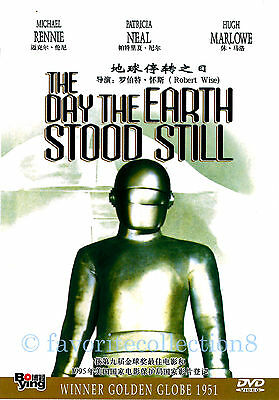 The Day the Earth Stood Still (1951) - Michael Rennie, Patricia Neal - DVD