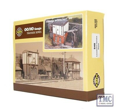 540 Ratio Locomotive Sevicing Depot OO Gauge Plastic Kit