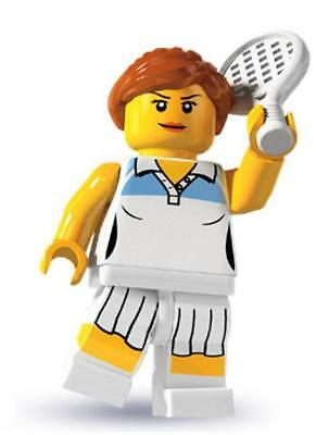 LEGO 8803 Tennis Player Collectible Minifigure Series 3 WTA NEW & SEALED
