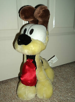 """OFFICIAL GARFIELD ODIE THE DOG 13"""" INCH SOFT PLUSH TOY"""