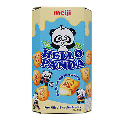 Hello Panda Milk Flavour Filling Biscuits - 50G