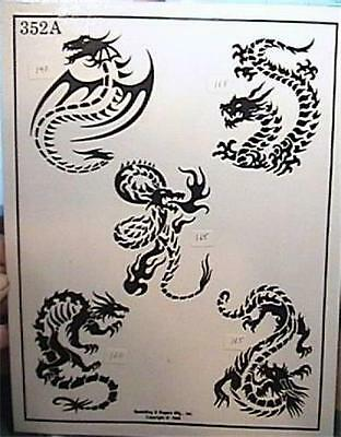 Rare original 1990s 209c official tattoo brand 11 x 14 for Spaulding rogers tattoo